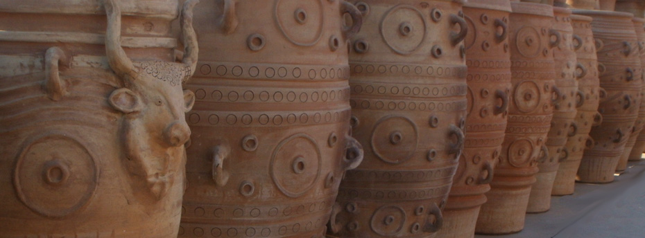 Replica of Minoan pottery